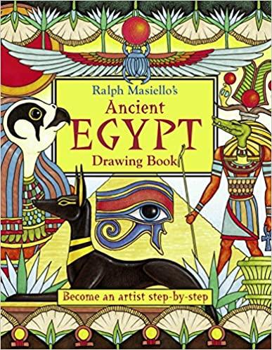 Ralph Masiello Ancient Egypt Drawing Book