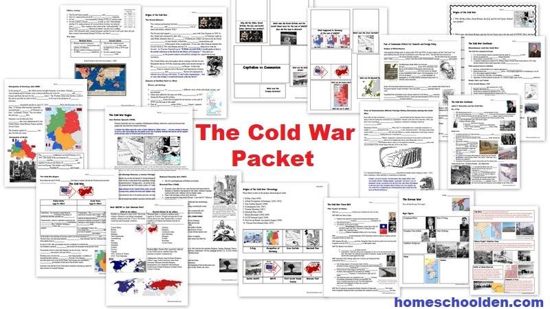 Cold War Unit - Packet