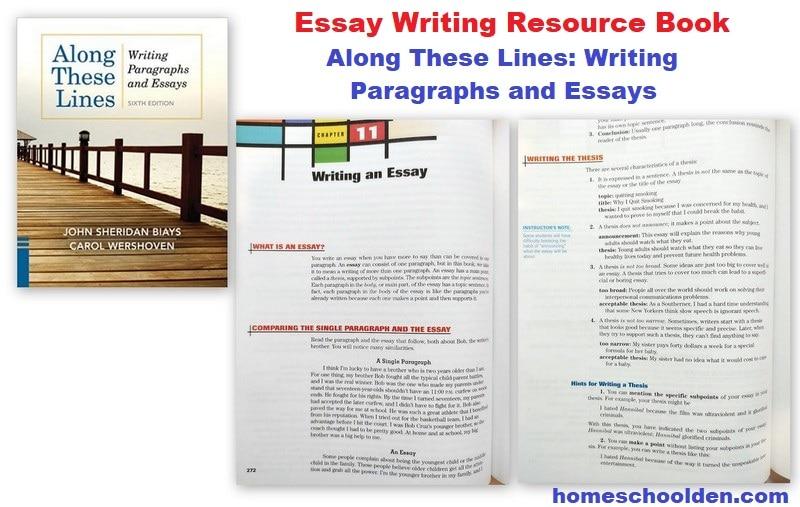 Essay Writing Resource book for homeschoolers